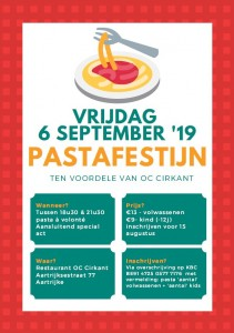 pastafestijn affiche